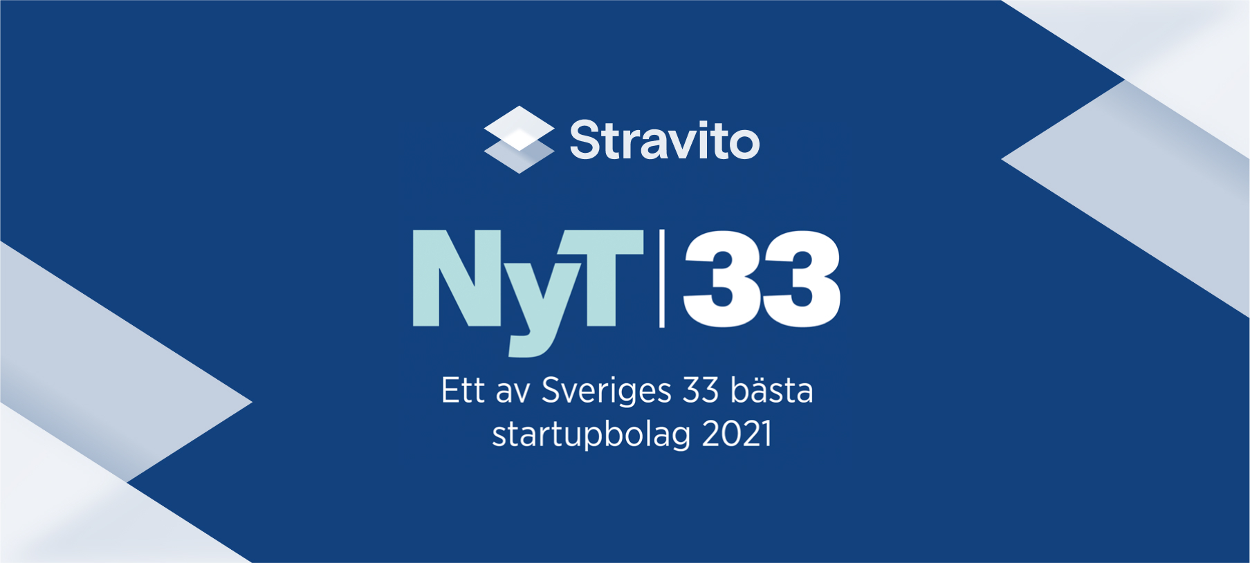 Stravito named a top startup in 2021 by 33-listan