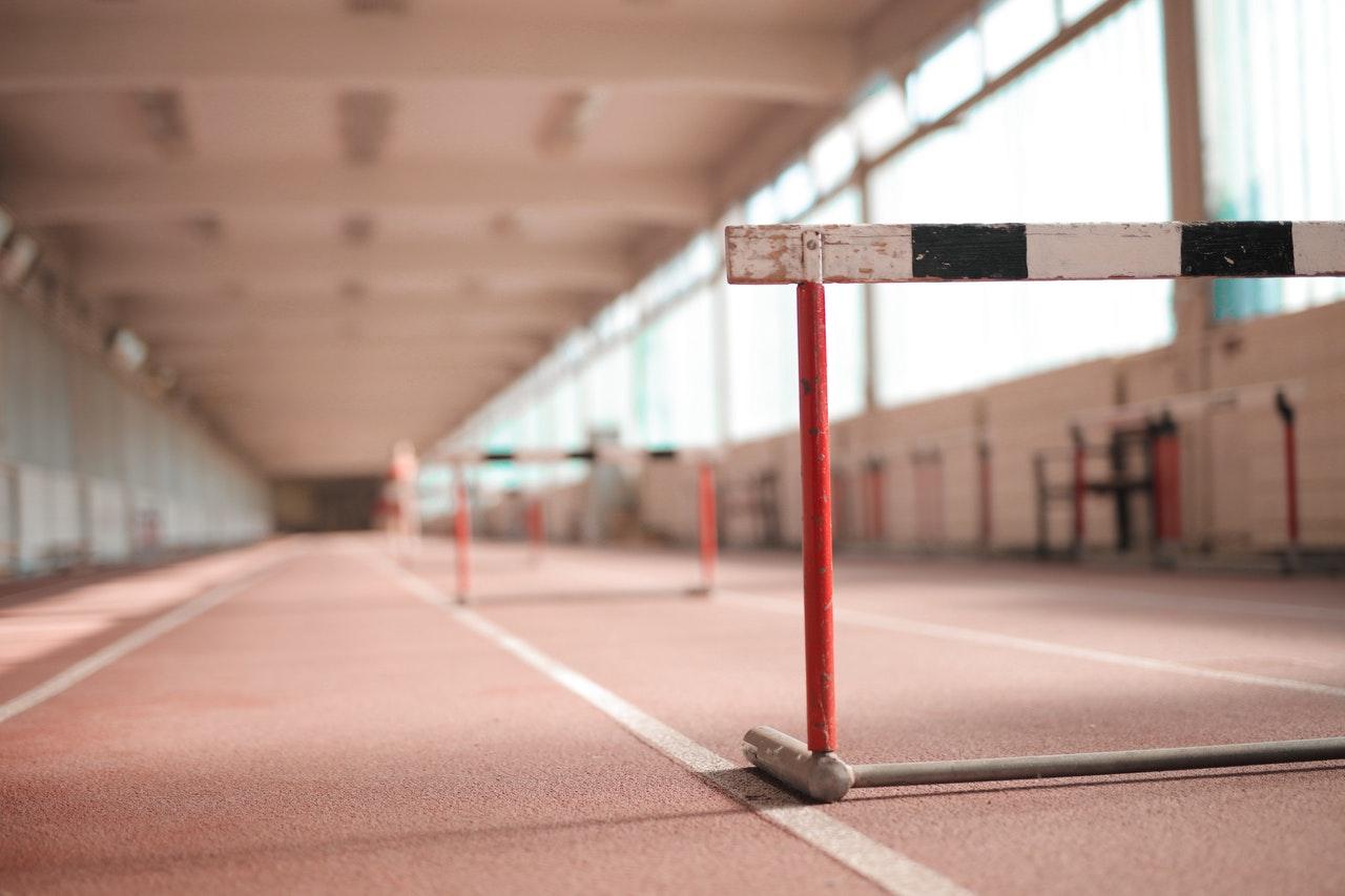 hurdles to jump over